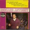 """45 Tours EP - RICHARD ANTHONY - COLUMBIA 1358  -   """"  J´ENTENDS SIFFLER LE TRAIN """" + 3 ( Au Dos Lettres BLEU ) - Vinylplaten"""