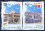 """MK 2012-625-6 MAKEDONIA IN EU, MACEDONIA, 1 X 2v WHIT ERROR PRINT """"MAKDONIA"""" AGAINST MAKEDONIA, MNH - Macedonia"""