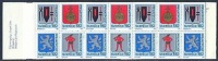 ZWEDEN 1986 Postzegelboekje Rabat PF-MNH-NEUF - 1981-..