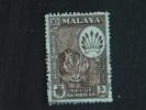 Maleisië Malaya Malaysia Negri Sembilan 1957 Tigre Tijger Yv 66 O - Negri Sembilan
