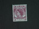 Maleisië Malaya Malaysia Penang 1954-55 Elisabeth II Yv 29 O - Penang