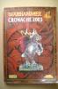 PBH/15 WARHAMMER CRONACHE 2003 Games Workshop/White Dwarf/Citadel Journal - Warhammer