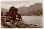 CARTE PHOTO CRAFNANT LAKE - NR. LIANWRST - Pays De Galles