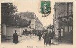 45 ORLEANS  Sortie Des OUVRIERS MANUFACTURE Des TABACS CAFE VINS Maison THIBAUD Timbre 1907 - Orleans
