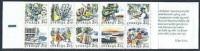 ZWEDEN 1988 Postzegelboekje Rabat PF-MNH-NEUF - 1981-..