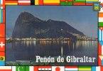 Espagne > Andalucía > La Linea (Cadix)  - GIBRALTAR -vue Nocturne Du  Penon De Gibraltar  * PRIX FIXE - Gibilterra