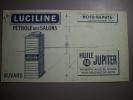 - Buvard - Pétrole Des Salons - LUCILINE - Moto Naphta - Huile Jupiter - - Gas, Garage, Oil