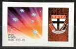 Australia 2011 St Kilda Saints Football Club Right With 60c Red Southern Cross Self-adhesive MNH - Mint Stamps