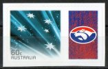 Australia 2011 Western Bulldogs Football Club Right With 60c Blue Southern Cross Self-adhesive MNH - Mint Stamps