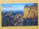 BIG BEND - National Park - TEXAS - Big Bend