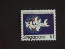 Singapore Singapour 1986 Année De La Paix Colombes Yv 507 MH * Crayon Sur Dos - Singapour (1959-...)