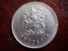 RHODESIA 1975 20 Cents Copper-Nickel  USED COIN In FINE CONDITION. - Rhodesia