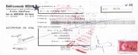 1967 ETS BESSON ARTICLES METALLIQUES GARE DE MONTBOZON HAUTE SAONE - Lettres De Change