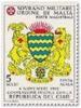 1992 - Sovrano Militare Ordine Di Malta PA 46 Stemma Del Ciad^ - Francobolli