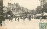 75 PARIS LE METROPOLITAIN BOULEVARD MAGENTA ANIME - Metro, Estaciones
