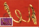 Romania Maxi Card / Bracelet Of The Cucuteni Treasure - Archeologia