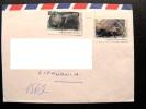 Cover Sent From Australia To Lithuania, 1992, Australian Antarctic Territory, Seal Animal - Australian Antarctic Territory (AAT)
