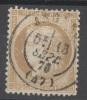 FRANCE   N° YT 55    -      CERES  15c  -     Petit Cachet  Angers 1876 - 1871-1875 Cérès