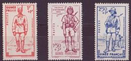 Guinée N °169 à 171** Neuf Sans Charniere
