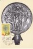 Carte- Maximum ITALIE N° Yvert 1636 (ART ETRUSQUE- Miroir D'argent- Apollon, Jupiter, Mercure) Obl Ill 1er Jour - Cartas Máxima