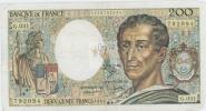 MONTESQUIEU 200 FRANCS - 1985 - G.031 - 1962-1997 ''Francs''