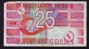BILLETE 25 GULDEN 1989 - [2] 1815-… : Reino De Países Bajos