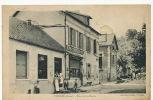 Cuffies Place De La Mairie Edit Corlay Timbrée Soissons 1951Boucher, Café De La Place - France