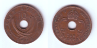 East Africa 10 Cents1934 - British Colony