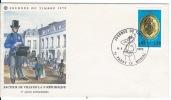 Document Philatélique ,enveloppe PARAY LE MONIAL 1975 - Other