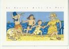 ENFANTS - ILLUSTRATEUR : INES - CERF-VOLANT - COURSE AVEC LE VENT  - JEUX DE PLAGE - Children