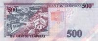 HONDURAS P.  78f 500 L 2004 UNC - Honduras