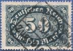 Germany, 50 M. 1922, Sc #198, Used - Germany