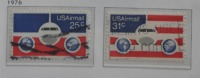 A5-2-10++USAIMAIL++AIRPLANES, 2 STAMPS 1 ITEM!!++SEE  PICTURE - Used Stamps