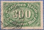 Germany, 300 M. 1923, Sc #201, Used - Germany