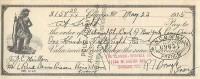FACTURE LETTRE ASSURANCE : CHICAGO / CINCINNATI . THE CLOUGH -BRENGLE CO. . 1935 . QUITTANCE . - Bank & Insurance