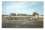 CPA -  -Massachusetts  - Boston  Ipswich :  Whitter Motel Route 1A Ipswich Mass - Boston