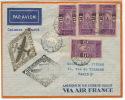 1er Jour FDC Premier Vol Cotonou Paris Air France Aeromaritime  Mars 1937 First Day Cover