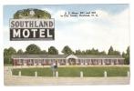 CPA - North Carolina : Rowland : Southland Motel U.S. Hwyw 301 And 501 In City Limits - Etats-Unis
