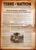 Terre Et Nation - Du Samedi 31 Mai 1941. - Newspapers