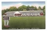 CPA - Pennsylvania : Bedford : Terrace Motel : U.S. Highway 220 At Turnpike Interchange - Etats-Unis