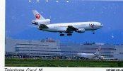 TELECARTE DU JAPON BUS OU AUTRES... A PETIT PRIX...THEME AVIATION....RARE!!!!!!... - Avions