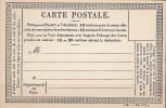 FRANCE / Entier, Carte Postale Officielle  C.P.O  De  1873  N° :37 ** Superbe - Entiers Postaux