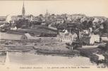 PONT  CROIX  Vue D Un Quartier ,  Prise De La Route De PLOUHINEC - Pont-Croix
