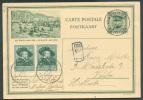 N°300(2) - 35 Centimes Rubens En Affranchissement Complémentiare S/E.P. Carte 35 Centimes Képi (ill. ZOUTE-AAN-ZEE) Obl. - Stamped Stationery