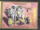 2418 ✅ Space Raumfahrt 1971 Apollo-15 1971 Ajman 1v Set MNH ** 5ME - Raumfahrt