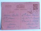 Carte Militaire Utilisée à La Correspondance Familiale, Destination MONTPELLIER - Guerra 1939-45