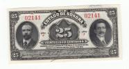 Mexico 25 Centavos 1915 UNC NEUF Estado De Sonora - Messico
