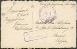 C.P. Expédiée D'un Prisonnier De Guerre à Göttingen, Cachet Violet POSTUBERWACHUNGSTELLE DES. GEF. LAGERS/GÖTTINGEN/Gepr - WW I