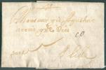 LAC De MADRID Le 1 Décembre 1680 Vers Lille (FR).  Port '10' (encre).  TB  - 7884 - ...-1850 Vorphilatelie