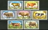 1985 Mongolia Fauna Allevamento Di Bestiame Livestock Rearing Betail D´elevage Set MNH** Lux16 - Mongolia